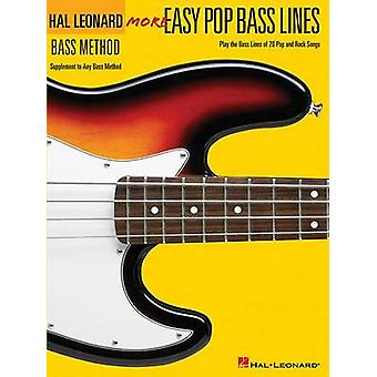 More Easy Pop Bass Lines - Supplemental Songbook to Book 2 of the Hal