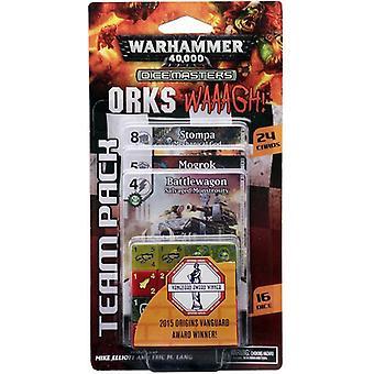 Warhammer 40000 Dice Masters Orks WAAAGH! Team pakke