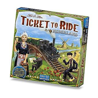Ticket To Ride Expansion Nederlands Map Collection Game