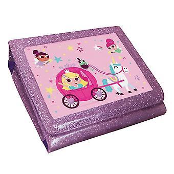 Prinzessin Einhorn linse rosa Glitzergehäuse (nintendo 2ds)