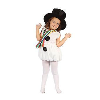 Bristol Novelty Toddlers Snowgirl Costume