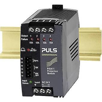 PULS DIMENSION PISA11.410 Overvoltage/overcurrent protector 24 Vdc 10 A 4 x