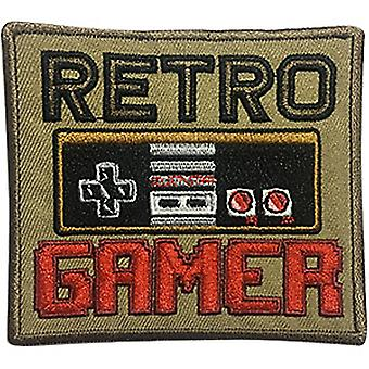 Patch - Video Games - Retro Gamer Icon-On p-dsx-4712