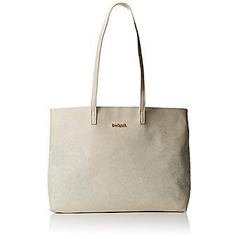 Desigual Bols_zoe Seattle Woman White shoulder bags (Raw) 13x29.5x38 cm (B x H x T)