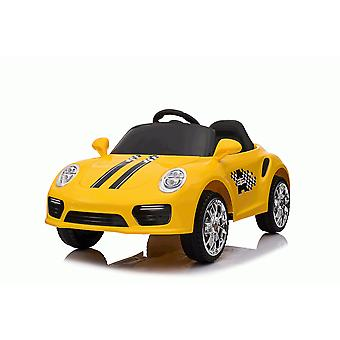 Rideontoys4u Kids 12V Boxster Style Sports Coupe Electric Ride On Car Yellow