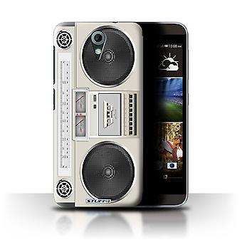 STUFF4 Case/Cover voor HTC Desire 820 Mini/Boombox/Retro Tech