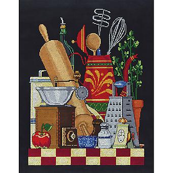 Kitchen Still Life Counted Cross Stitch Kit-11