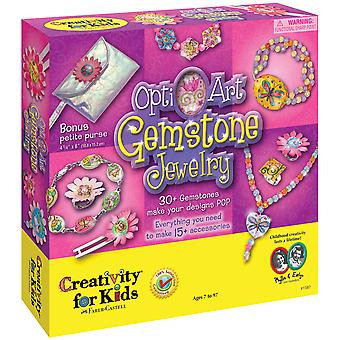 Opti Art Gemstone Jewelry Kit 1587Ck
