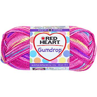 Red Heart Gumdrop Yarn Cherry E800 620