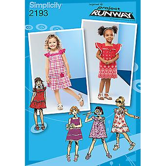 Simplicity Toddlers Dresses 4 5 6 7 8 U02193bb