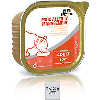 Dechra Specific Food Allergy Mangement FDW (Chats , Nourriture , Pâté)