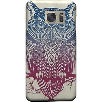 Vintage owl tribal cover for Galaxy S7