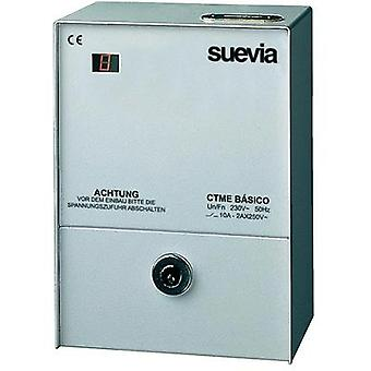 Prepayment meter digital 24 h mode Suevia CTME Basic 2300 W IP20