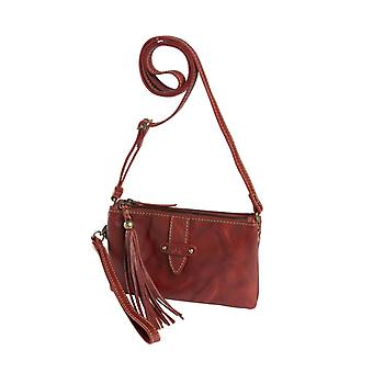 Dr Waxi Amsterdam shoulder bag/Clutch Red