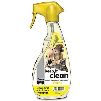 Supreme Keep It Clean Lemon 500ml (Pack of 6)
