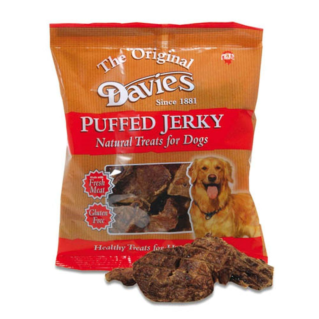 Davies Puffed Jerky 100g (Pack of 12)