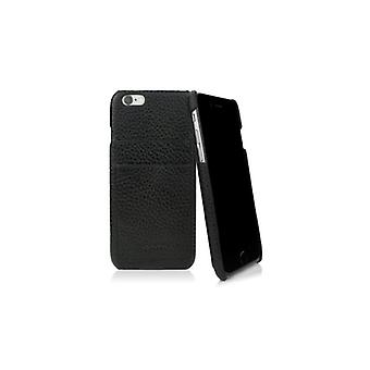 Caseual Leather back For iPhone 6/6S-PATTERNED BLACK