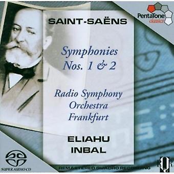 Camille/Saint-Saens-Ns Saint-Sa: Importación de Estados Unidos sinfonías núms. 1 & 2 [SACD]