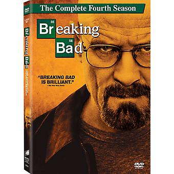 Breaking Bad: The Complete Fourth Season [4 Discs] [DVD] USA import