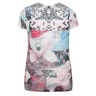 PAPRIKA Multi Printed Top With Short Sleeves