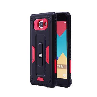 32. schwer Defender Case für Samsung Galaxy A5 (2016) SM-A510 - rot