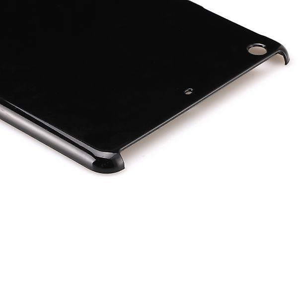 Hard case glossy black for Apple iPad air + foil