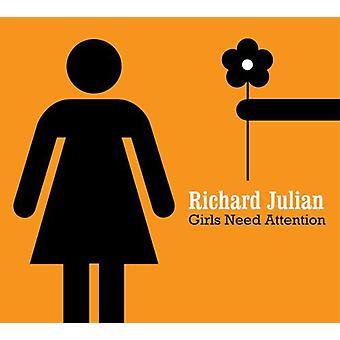 Richard Julian - Girls Need Attention [CD] USA import