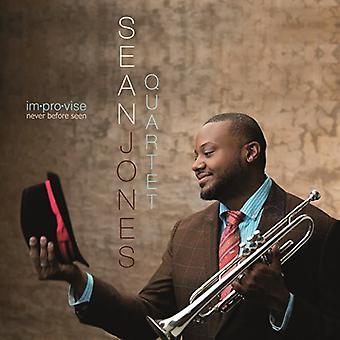 Sean Jones - improvisere aldrig før set [CD] USA import