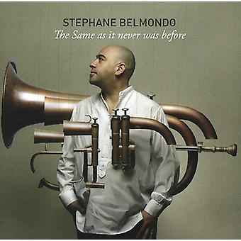 Stephane Belmondo - Same as It Never Was Before [CD] USA import