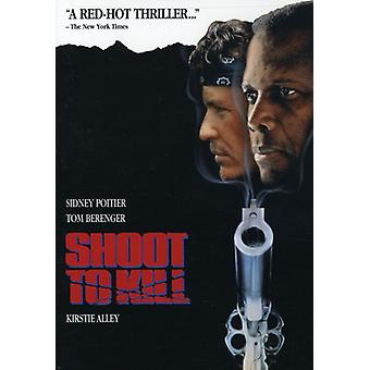 Shoot to Kill [DVD] USA import