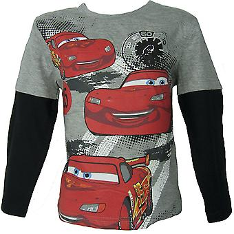 Boys Disney Cars McQueen Long Sleeve Top