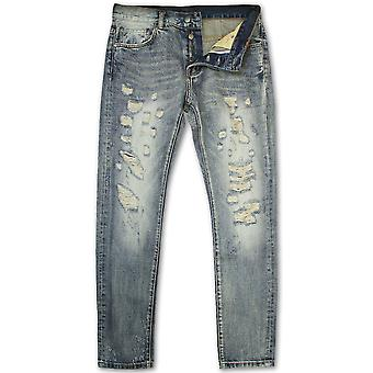 Dope Couture Franklin koniske Denim Jeans blå