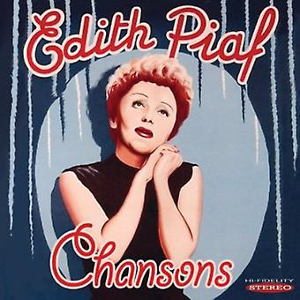 Edith Piaf - importación de USA de Chansons [CD]