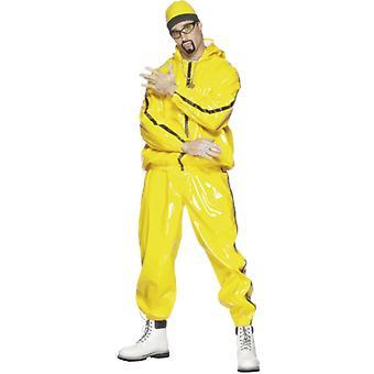 Rapper Anzug, Gelb Herrenkostüm