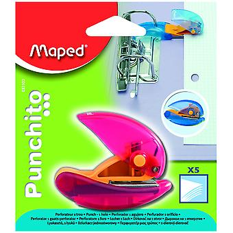 Maped Taladro 1 Agujero Punchito (Toys , School Zone , Accessories)