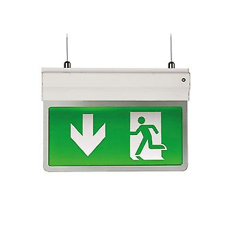 Ansell Eagle LED 2.5W Exit Sign Light 2.5W, White