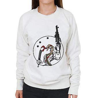 Battle Worm Earthworm Jim Women's Sweatshirt