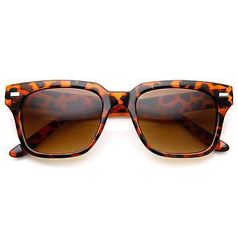 Casual Horned Rim Square Frame Retro Horn Rimmed Sunglasses