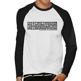 Tourettes The Voice Of A New Generation Men's Baseball Long Sleeved T-Shirt