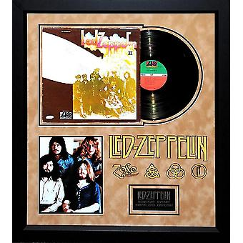 Led Zeppelin - II - Album LP Signed by 4 Members