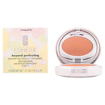 Clinique Beyond Perfecting Powder Foundation 15-Beige 14.5 Gr (Beauty , Make-up , Face)