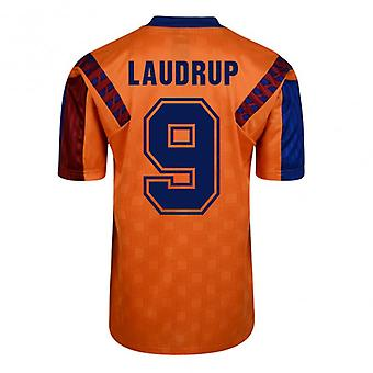 Score Draw Barcelona 1992 Away Shirt (Laudrup 9)