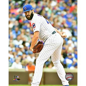 Jake Arrieta 2017 Action Photo Print