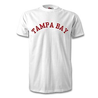 Tampa Bay College estilo camiseta