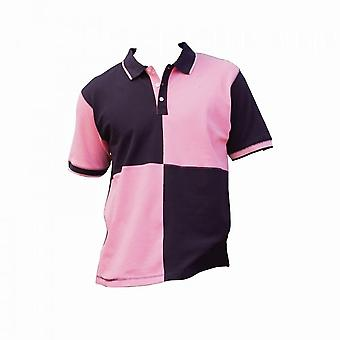 Front Row Mens Quartered House Slim Fit Polo Shirt
