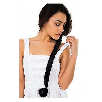 The Fashion Bible Celebrity Style Mermaid Fishtail Hair Plait In Black