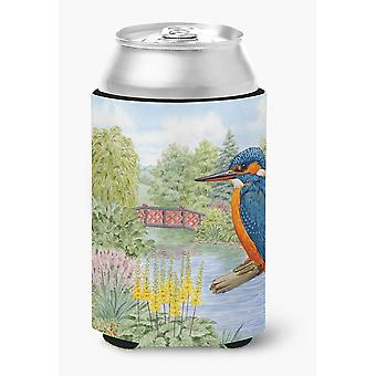 Carolines Treasures  ASAD0692CC Kingfisher by Sarah Adams Can or Bottle Hugger