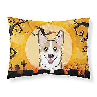Halloween Sable Corgi Fabric Standard Pillowcase