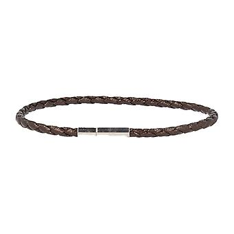 Baxter jewelry London leather bracelet Brown