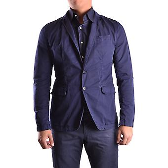 Bikkembergs men MCBI042067O Blau cotton Blazer